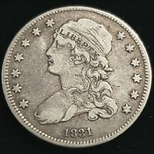 1831 US Liberty Capped Bust Silver Quarter Dollar 25c Early Date Coin *LCB3164