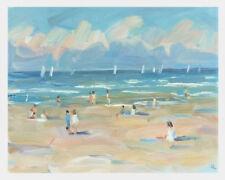 Ölgemälde Bild Seelandschaft Küste Strand Wellen Öl/ Malkarton 30x24 cm signiert