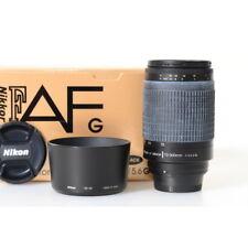 Nikon Af Nikkor 70-300mm 1:4 5.6G