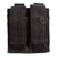 NEW! VooDoo Tactical 20-7975072000 Pistol Mag Pouch, Black Multicam, Double
