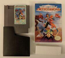 Clash At Demonhead NES Game 1990 Vic Tokai w/ Box but no Manual