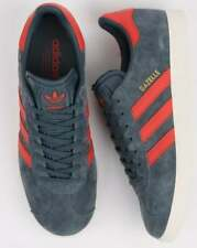 Adidas Gazelle Trainers Slate Blue/ Orange