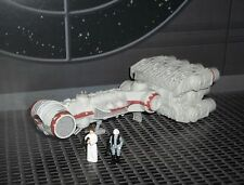 STAR WARS ACTION FLEET SERIES  REBEL BLOCKADE RUNNER  W/ 2 MINI FIGURES