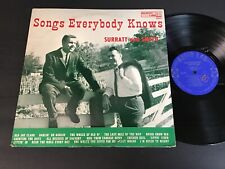Surratt and Smith: Songs Everybody Knows LP - Audio Lab 1565 - Country