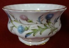 ROYAL ALBERT china BRIGADOON pattern Mini Open Sugar Bowl - 2-1/4""