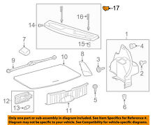 TOYOTA OEM Interior-Rear-Package Tray Hanger 6438152010