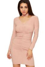 Vestidos de mujer de color principal rosa de poliéster talla 38