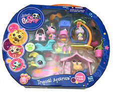 New Littlest Pet Shop Hasbro TROPICAL AQUARIUM Fun Dolls Collection Kids Toy