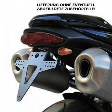 Kennzeichenhalter/Heckumbau Triumph Speed Triple verstellbar, adjustable tail