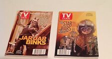 Tv Guide 1999 Lot of 2 Star War Covers