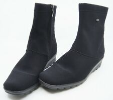 Ara Gore-Tex Womens Black Ankle Boots US Size 6 1/2 Excellent Unworn