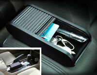 Car Plastic Pocket Sliding Dash Phone Paper Money Coins Case Storage Box Holder