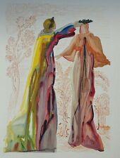 DALI Salvador : PURGATOIRE 27 - Paroles de Virgile  - DIVINE COMEDIE, 1960