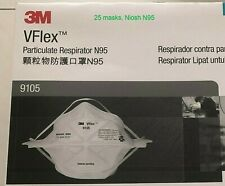 25 packs of VFlex 9105, exp 2025, REPLACEMENT for 9211 Aura 9332 1870 9322 9210