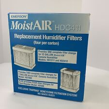 NEW Emerson MoistAir HDC411 Box Of 4 Replacement Humidifer Filters