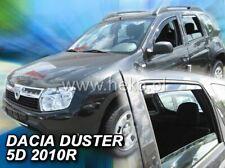 4 Deflettori Aria Antiturbo DACIA DUSTER I 2010-2018  5 porte