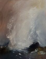 Abstract landscape painting- Abstract contemporary art
