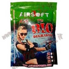PALLINI BUSTA AIRSOFT ONE BIO 1Kg 5000Pz BB 0.20 Gr BIODEGRADABILI 6mm SOFTAIR