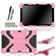 """Fit Various 10"""" HP Tablet - Shockproof Silicone Stand Cover Case + Stylus"""
