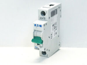 EATON PLSM - C6 6AMP C6 MCB 10KA 230-400V XPOLE TYPE C Brand New
