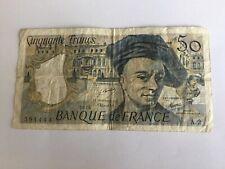 Billet France 50 Francs Quentin De La Tour 1976 (91-34)