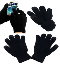 Touch Screen Soft Cotton Winter Smart Gloves For All Phones One Size Unisex