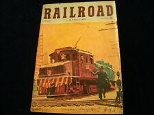 Vintage December 1950 Railroad Magazine Streamliners Romance of Station bells A1