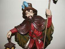 Nachtwächter 56/68cm, Holzfigur ,Skulptur,  echte Holzschnitzerei ,