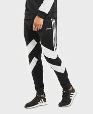 NEW MEN'S ADIDAS ORIGINALS PALMESTON TREFOIL TRACK PANTS ~ MEDIUM  #DJ3457 BLACK