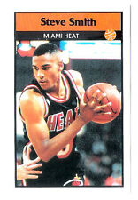 Steve Smith 1992-93 Miami Heat Basketball Italian Panni Sticker card