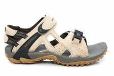 Womens Merrell Kahuna III Active Trail Taupe Leather Sandals