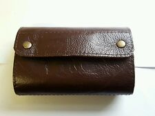 Shotgun Choke Case / 12 Bore Cartridge Case Brown Leather Clay Shooting