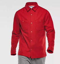 G-STAR Marc Newson Overshirt Wool red NEW [M size- OP $US 290]