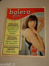 BOLERO=1966/1002=STEFANIA SANDRELLI=GIGLIOLA CINQUETTI=ANNA MARIA FERRERO=SOREL