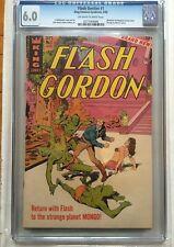 CGC 6.0 Flash Gordon#1 *OW-White*1966*Pin-ups on interior covers*