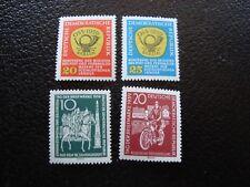 ALEMANIA (rda) - sello yvert/tellier Nº 401 402 451 452 N MNH (COT1)