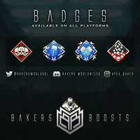 [TRUSTED] Apex Legends 20k/4k badge + All badges! XBOX/PS4/PC *READ Description*