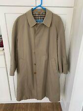 Rare men,s Aquascutum Broadgate raincoat/trench EUC