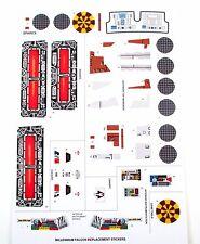 Kenner Millennium Falcon 1979 Vintage Star Wars replacement Sticker set + BONUS