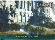 The Hobbit An Unexpected Journey Lonely Mountain Chase Card P-02 The Great Door