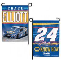"Chase Elliott #24 Double Sided NAPA Garden Flag NASCAR 12"" X 18"""