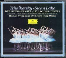 Seiji OZAWA: TCHAIKOVSKY Swan Lake Schwanensee Complete Ballet DG PDO 2CD 小澤征爾
