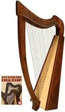 "CELTIC 36"" HEATHER HARP - BOOK - STRINGS - TUNE TOOL"