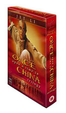 Once Upon A Time In China - Complete Trilogy Jet Li New & Sealed 3 Disc Set DVD