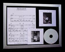 JESSIE WARE Say You Love Me TOP QUALITY CD LTD FRAMED DISPLAY+FAST GLOBAL SHIP