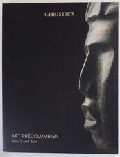 Auction Catalogue Christie's Paris Pre-Columbian Art April 7, 2020 Maya Inca