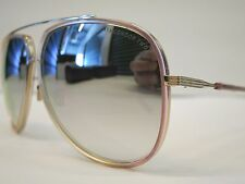 DITA CONDOR TWO Pink Crystal Brown 12K Gold Optique Glasses Eyewear Sunglasses