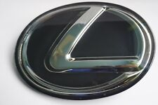 For LEXUS BLACK FRONT EMBLEM IS250 GS350 RX350 Grille Grill Logo Badge F sport