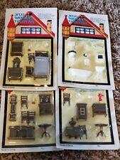 1//48 Th Muebles juego = cuarto de baño Casa de muñecas en miniatura