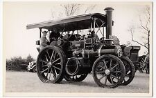 "Garrett Tractor, 33991 ""Patricia"", FK 1300 at Early Rally BW Photo PC Size"